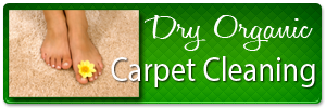 Dry Organic Carpet Cleaning