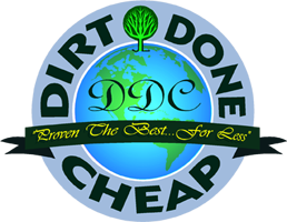 Dirt Done Cheap Carpet Cleaning Logo